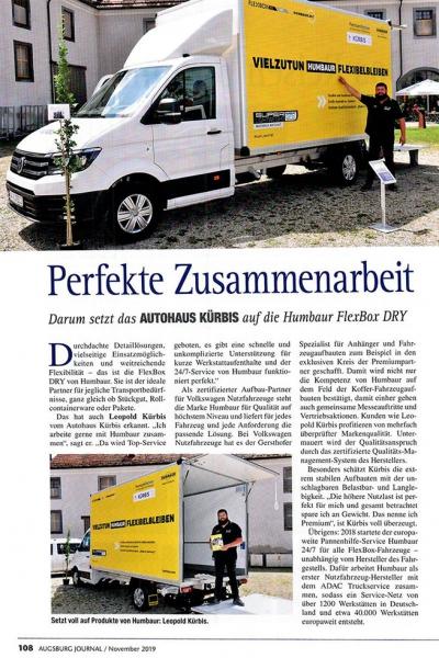Perfekte Zusammenarbeit   VW und Audi Fahrzeuge und