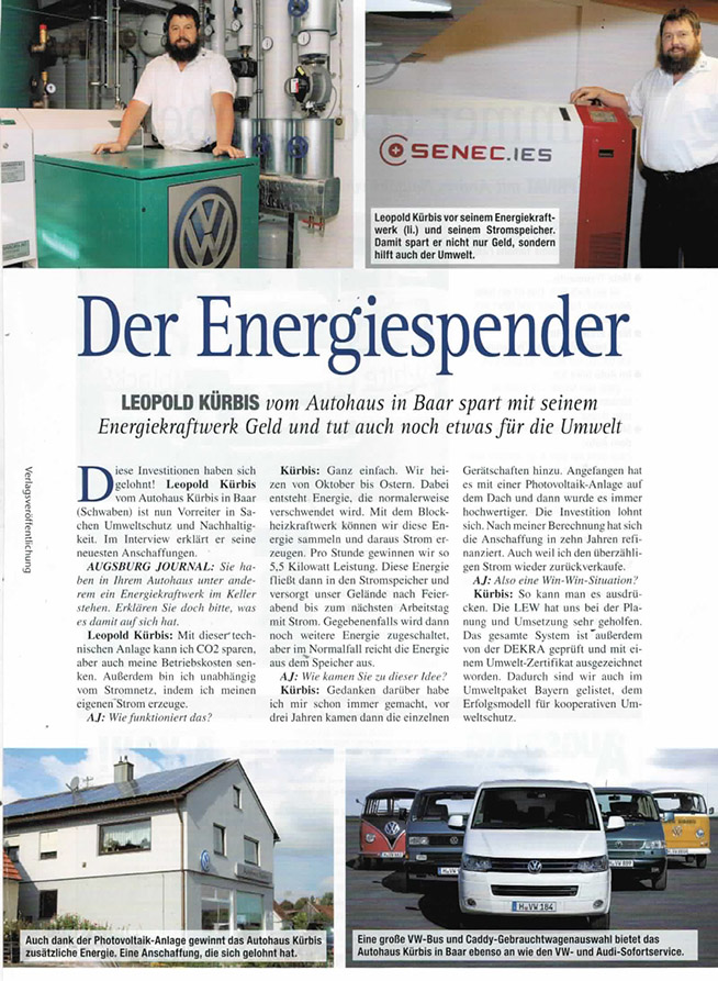 Leopold Kürbis Der Energiespender