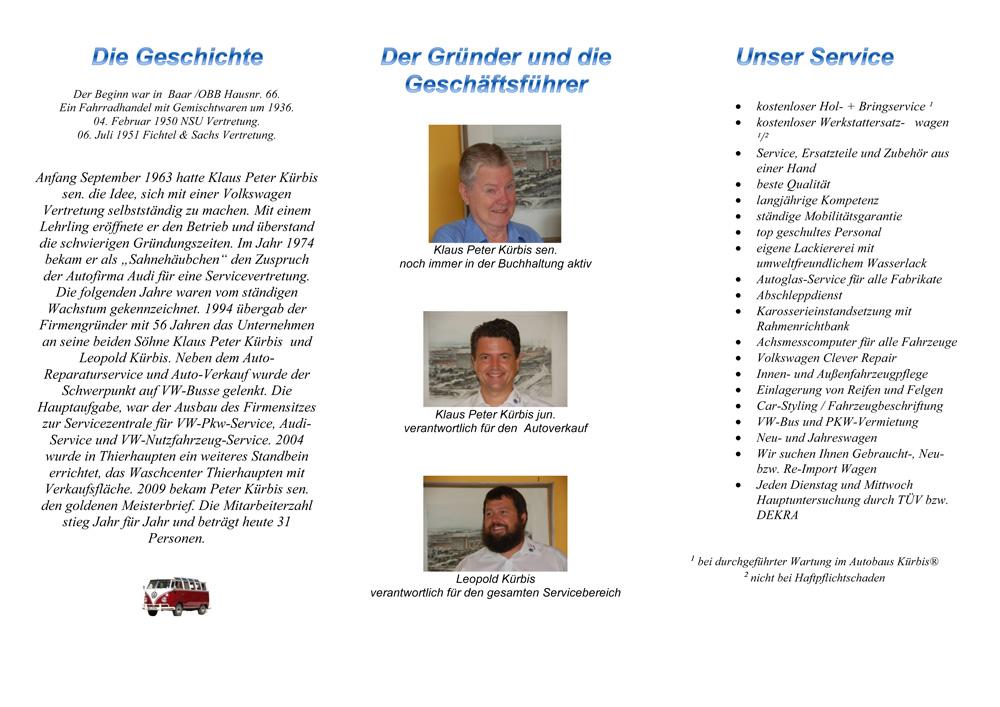 50 Jahre Volkswagen-Service